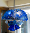 Hand Blown Glass Lighting Chandelier